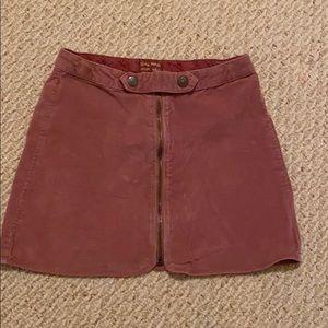 Zara Zip Up Skirt